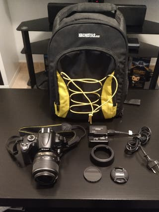 Nikon D5000 + Objetivo