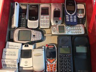 Teléfonos Móviles Retro Antiguos Nokia Ericsson