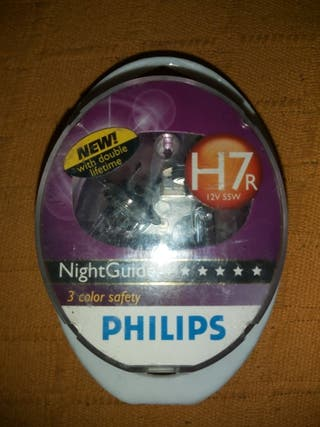 lámparas h7 r philips