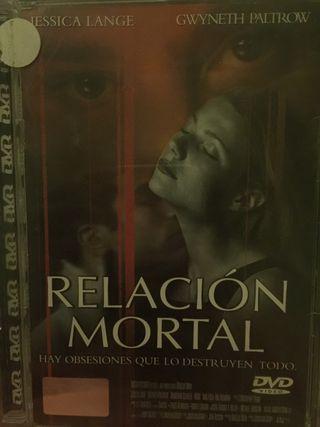 Película en dvd relación mortal