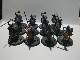 12 jinetes de Rohan Warhammer