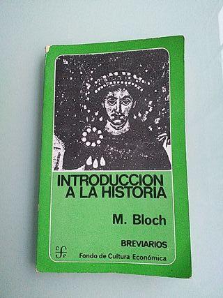 """Libro"""" INTRODUCCIÓN A LA HISTORIA """""""