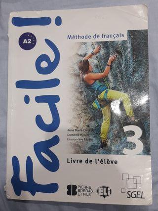 """Libro Francés, """"Facile"""""""