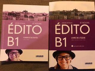 Libro francés ÉDITO B1