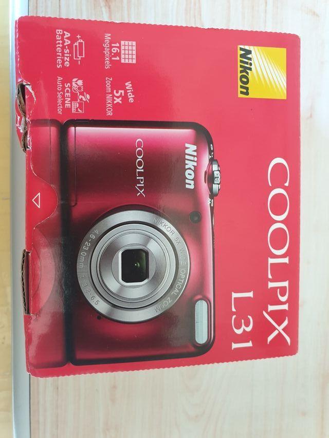 Nikon Camra de fotos Coolpix L31