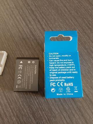 Mini bateria recargable para camara
