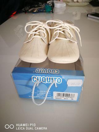 zapato Bebe beige