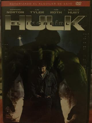 Película en dvd el increíble Hulk