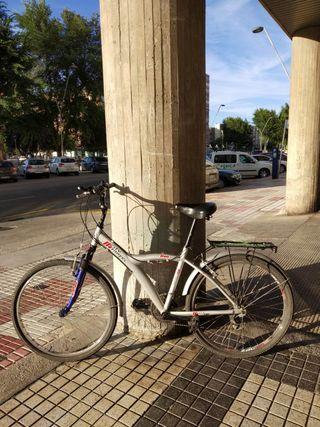 Vendo bicicleta con alforjas