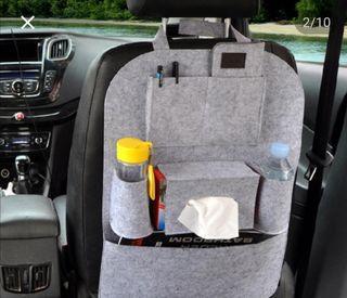 porta objetos asiento coche