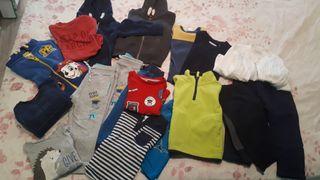 lote 24 prendas de niño 2 años