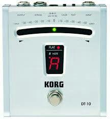 Afinador guitarra formato pedal Korg DT-10