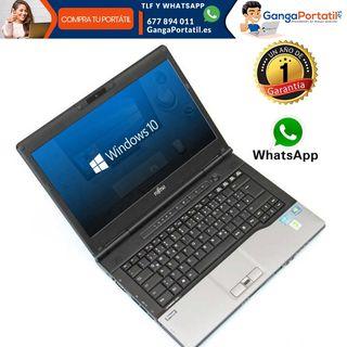 Portátil Fujitsu S752, I5 / 8Gb Ram / 256 SSD / Wi
