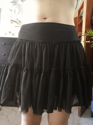 Falda gótica sencilla