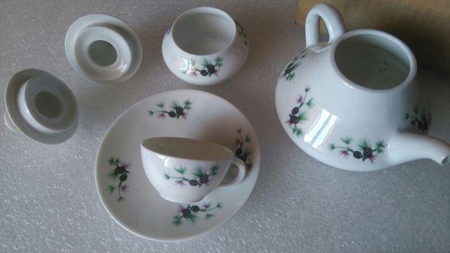 juego de té para mi muñeca porcelana castro sagard