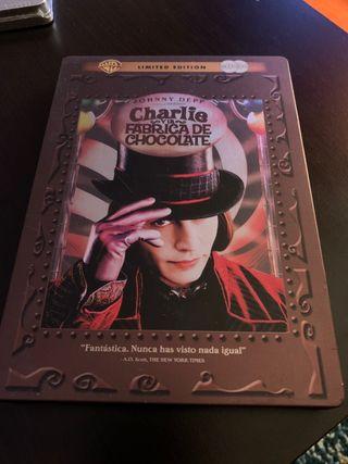 Charlie y la Fábrica de Chocolate Steelbook DVD