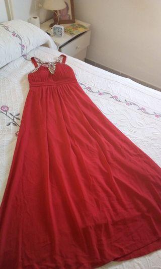 vestido de fiesta o boda