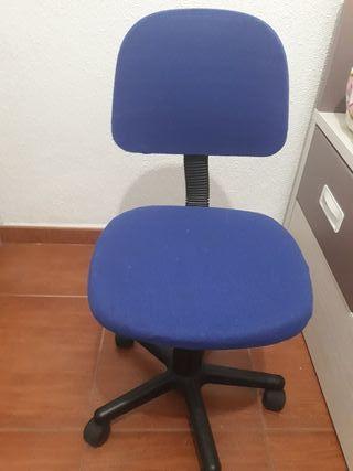 silla ruedas escritorio