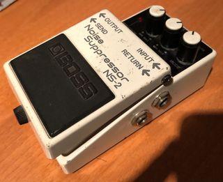 Boss NS2 pedal de guitarra