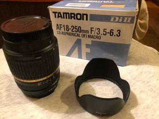 Objetivo Tamron 18-250