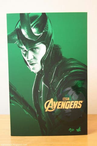 hot toys Loki Avengers
