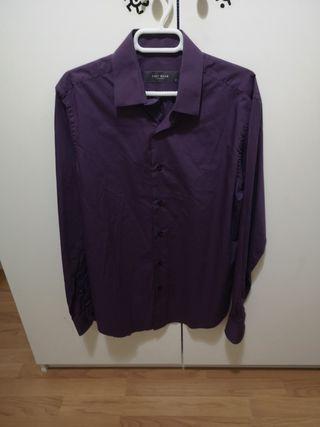 Camisa easywear lila, púrpura