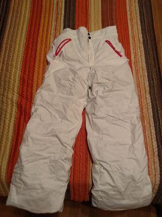 Pantalón nieve impermeable talla 12