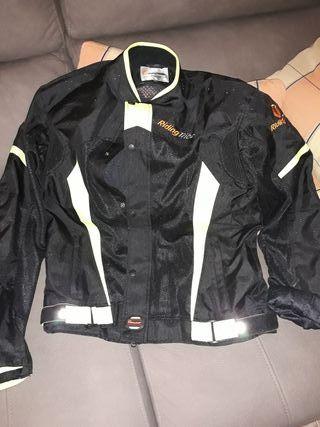 chaqueta moto verano