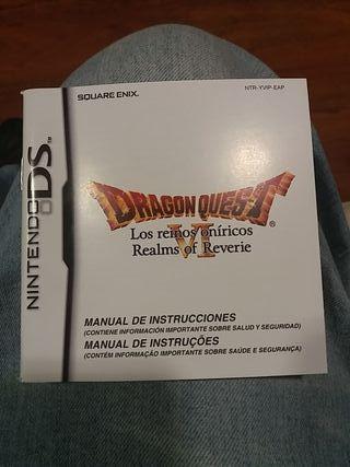 Manual de Instrucciones Dragon Quest VI Nds