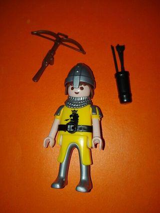 Playmobil ballestero medieval bayesta ballesta
