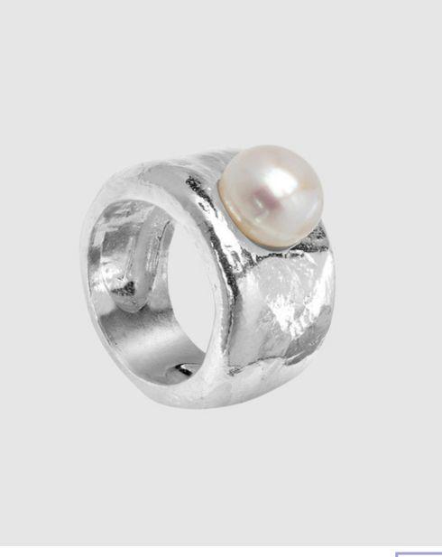 anillo de plata TOUS modelo Dune