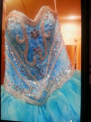 vestido de boda gitana