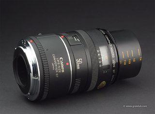 Objetivo Canon 50 mm Macro