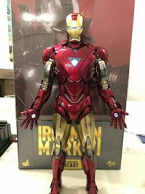 hot toys Ironman Mark VI die Cast
