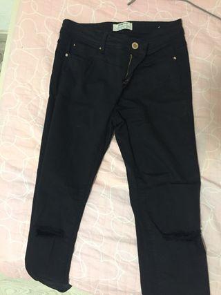 Pantalon negro mujer