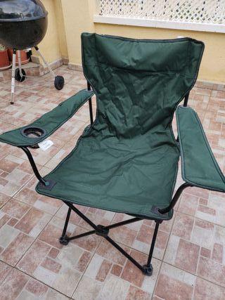Silla de Camping plegable en 4 colores