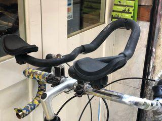 Apoyabrazos clásico bicicleta carretera