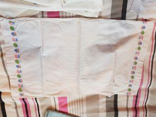 3 fundas de almohadas bebé
