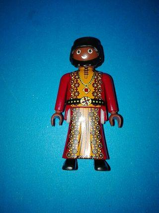 Playmobil rey mago druida sarraceno árabe egipcio