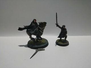 Aragorn a pie y caballo Warhammer