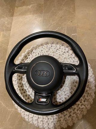 Volante Audi miltifuncion con levas