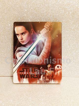 Steelbook Bluray Star Wars Los Ultimos Jedi