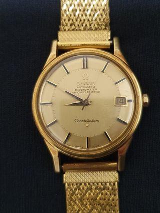 Omega Constellation Automatic Oro años 60