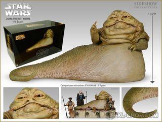 Jabba el hutt Star Wars Sideshow