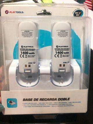 Baterías recargables Wii U