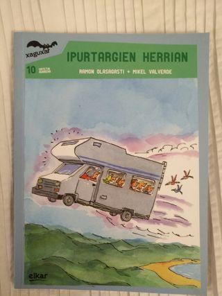 """Libro """"Ipurtagien herrian"""" liburua"""