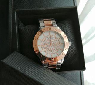 Reloj Pandora Color Oro rosa y plata (Mujer))