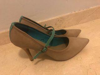 Zapatos tacón salón Blanco Suite