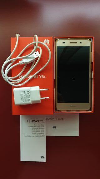 Huawei Y6II. Bateria cambiada. Protector vidrio.