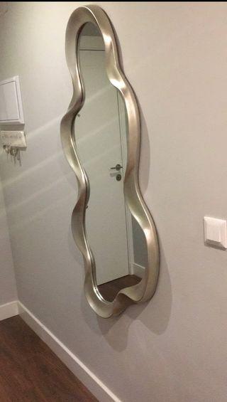 Espejo plata diseño